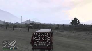 Crazy A$$ Dump Truck Glitch In GTA V