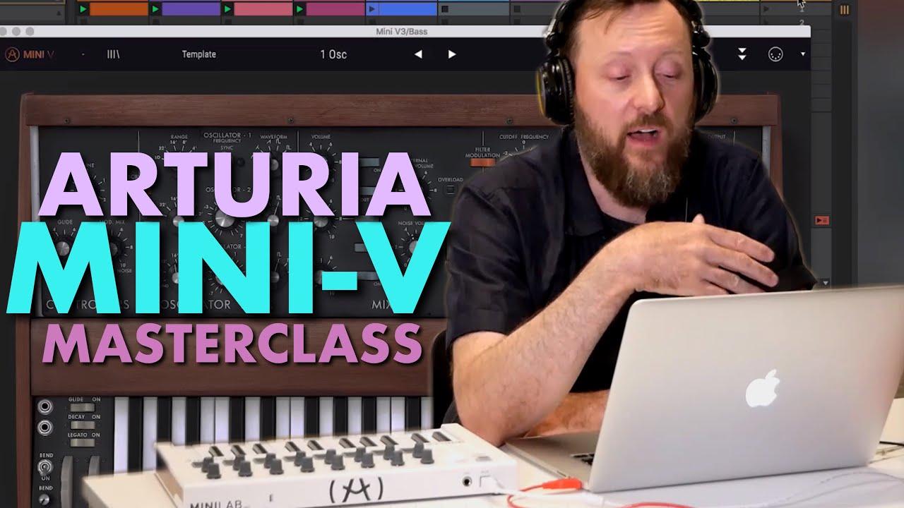 Download Arturia Mini-V Masterclass   Plug-in Tutorial With John Selway