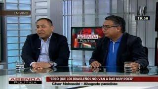 César Nakazaki y Carlos Caro: orfandad de fuentes de informacion en la Fiscalía en el caso Lava Jato