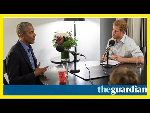 Prince harry interviews barack obama for today programme guest slot