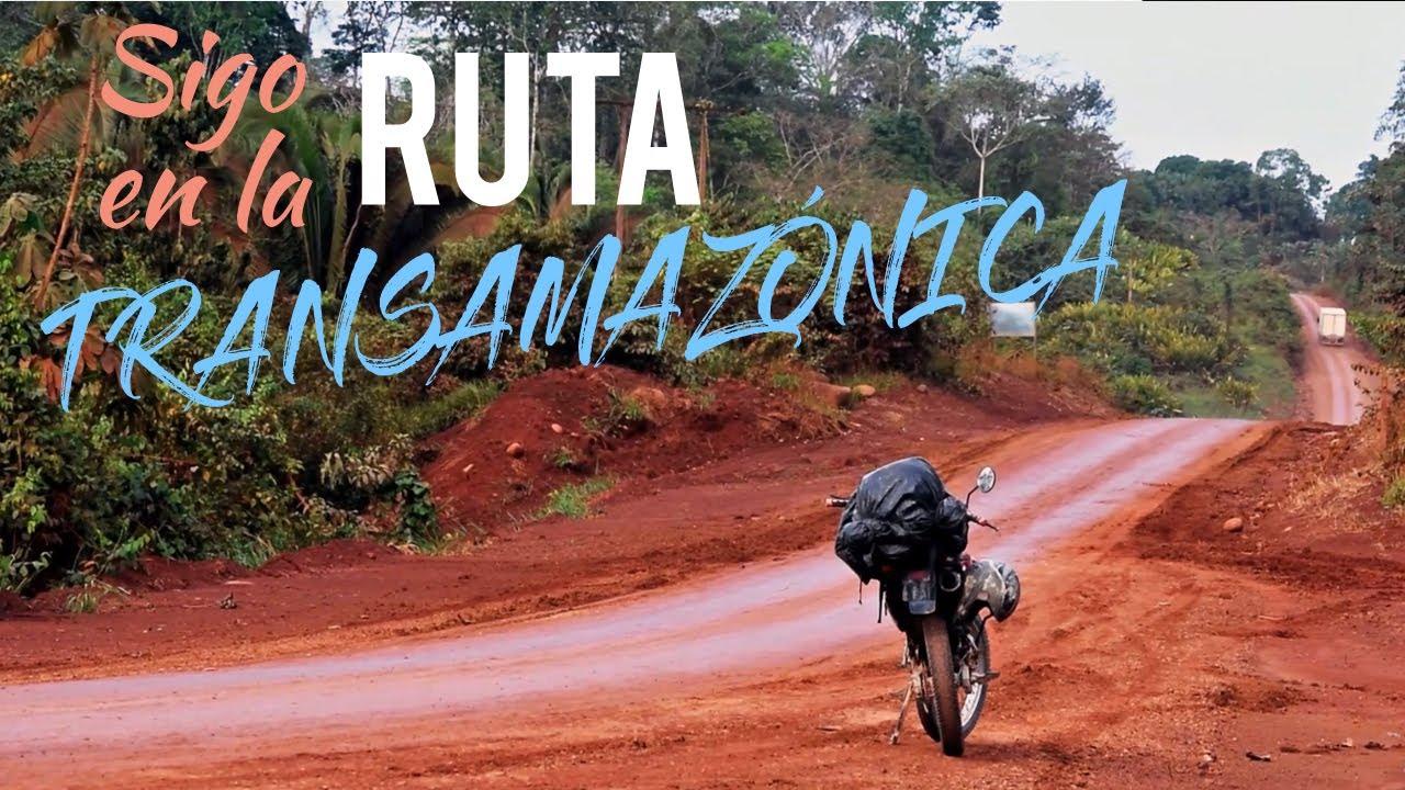 La RUTA TRANSAMAZÓNICA es INTERMINABLE!!! 😱