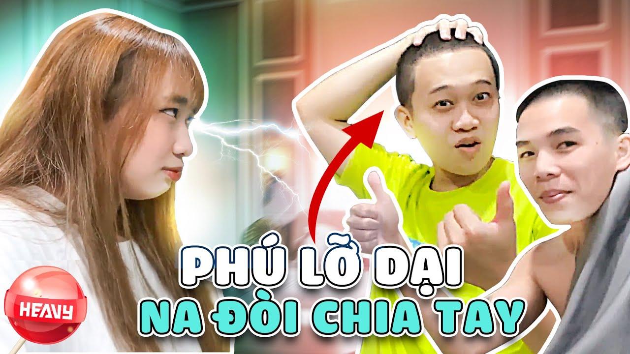 """[Vlog] Na Sốc Nặng Khi Thấy Phú """"CẠO ĐẦU"""" !!   HEAVY NA GÂY MÊ"""