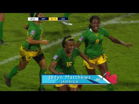 CU20W 2018: Jamaica vs United States Highlights