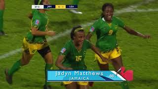 CU20W 2018: Jamaica vs United States Highlights