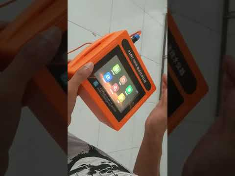 ADMT-Series Touch Screen Geophysical Instrument operation