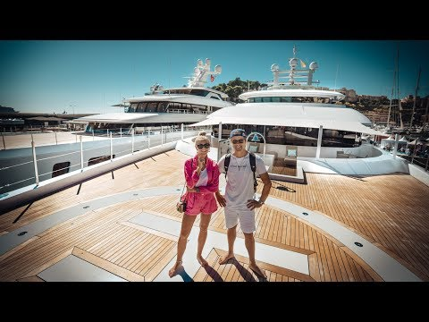 $145M SUPERYACHT TOUR! | VLOG³ 64
