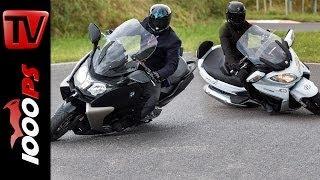 Suzuki Burgman 650 vs BMW C 650 GT | Scooter Battle