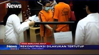 Rekostruksi, Ibu dan Anak Peragakan Cara Habisi Nyawa Bocah di Sukabumi - iNews Sore 01/10