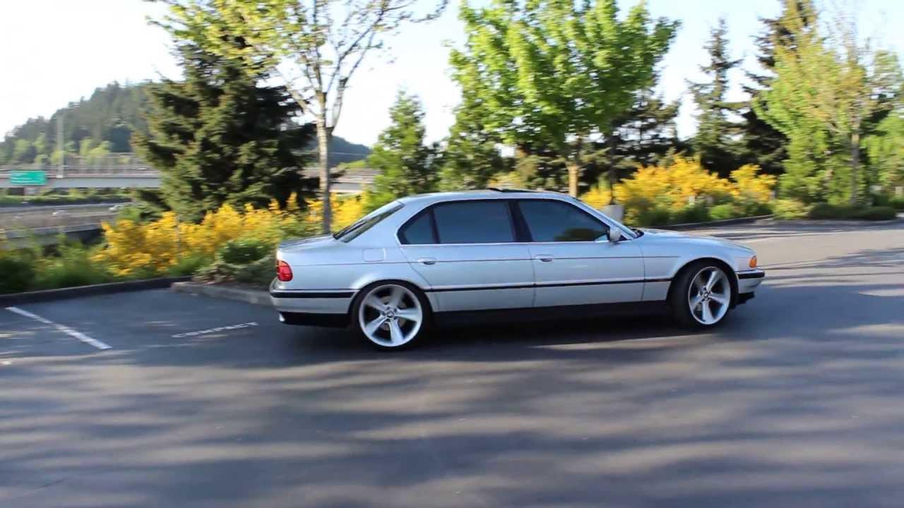 BMW 750IL On 21 Rims