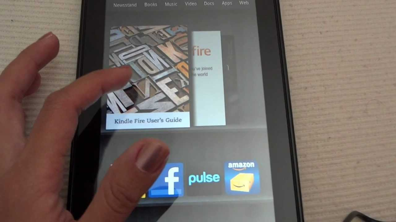 amazon kindle fire startup youtube rh youtube com kindle fire hd 8 startup guide Kindle Fire HD Back