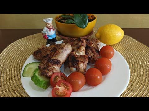 🔥Такой импровизаци вы точно не пробовали//куриные крылья.🐔//на мангале//как готовить маринад 👩🍳