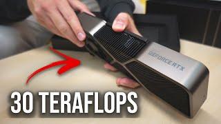30 TERAFLOPS!? | Unboxing da INCRÍVEL NVIDIA Geforce RTX 3080