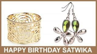 Satwika   Jewelry & Joyas - Happy Birthday