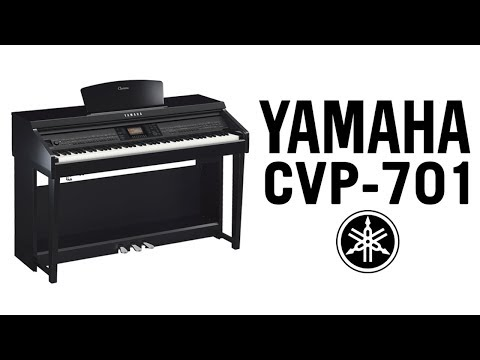 yamaha clavinova cvp 701 demo. Black Bedroom Furniture Sets. Home Design Ideas