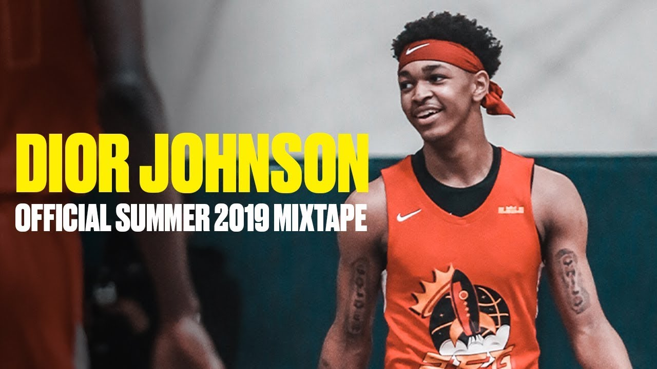 Dior Johnson Is Tough No 1 Pg In The Class Of 2022 Official Summer 2019 Mixtape Youtube