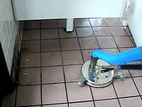 Restaurant Tile Grout Pressure Cleaning/Washing Vacuum