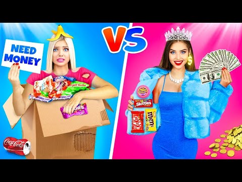 RICH STUDENT vs BROKE STUDENT || 7 Funny Stories in Student Life by RATATA BOOM