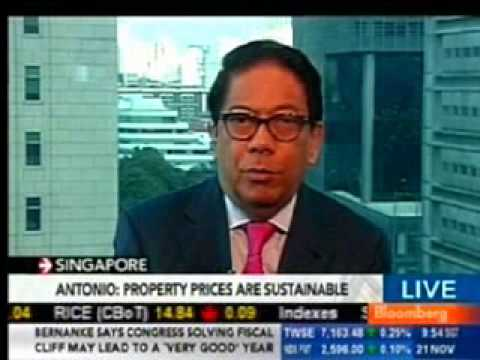Century Properties Executive Chairman of the Board Jose E.B. Antonio interviewed on Bloomberg