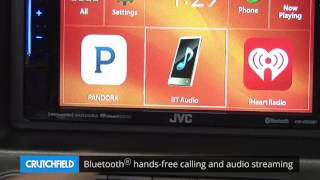 JVC KW-V230BT Display and Controls Demo | Crutchfield Video