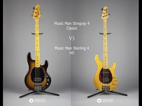 Music Man Bass comparison: Stingray VS Sterling
