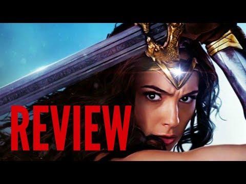WONDER WOMAN Movie Review (2017 DC, Gal Gadot)