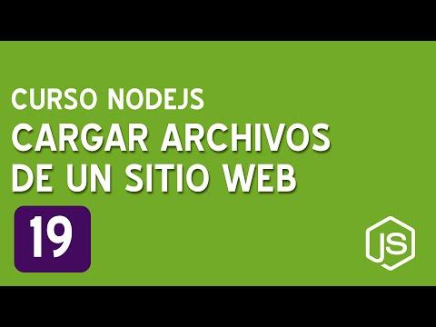 19. Cargar archivos de un sitio web   Curso de NodeJS para principiantes thumbnail