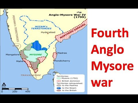 FOUTH ANGLO MYSORE WAR II HISTORY INDUS II