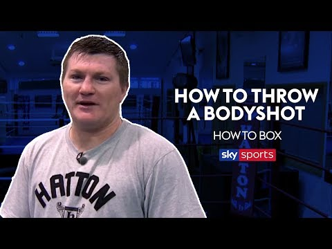 How to Throw a Bodyshot | Ricky Hatton Masterclass | Boxing for Beginners