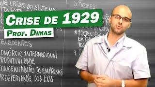 História - Crise de 1929