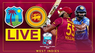 🔴LIVE | West Indies v Sri Lanka | 3rd CG Insurance ODI