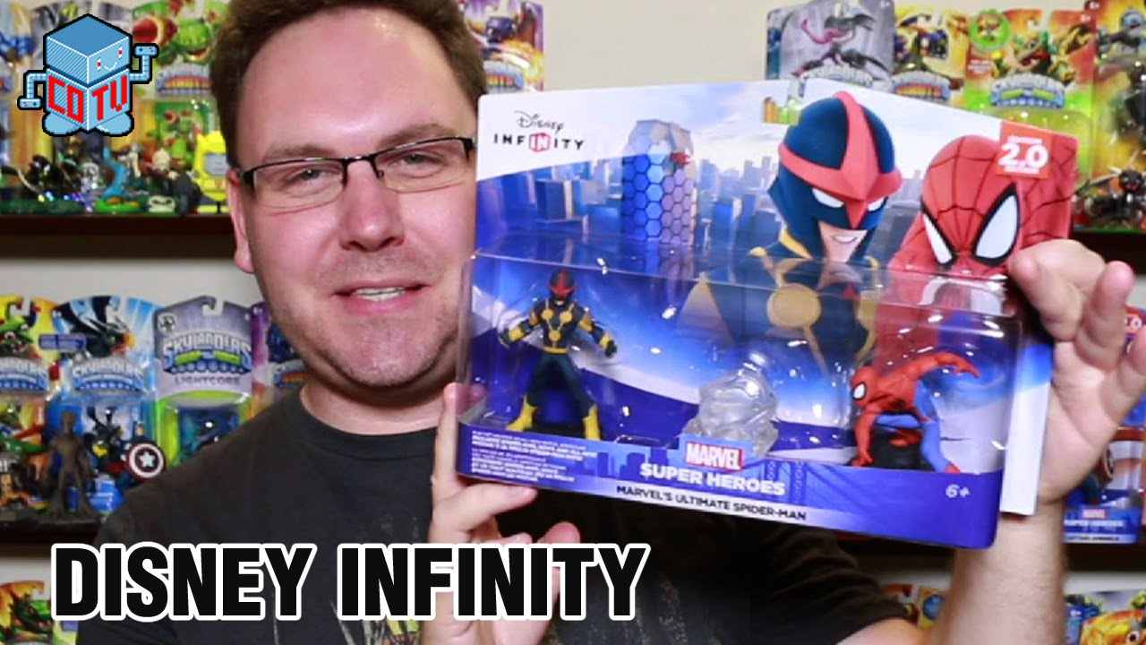 Disney Infinity 2 0 Spider Man Nova Playset Unboxing