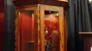 Amish Mission Corner Gun Cabinet