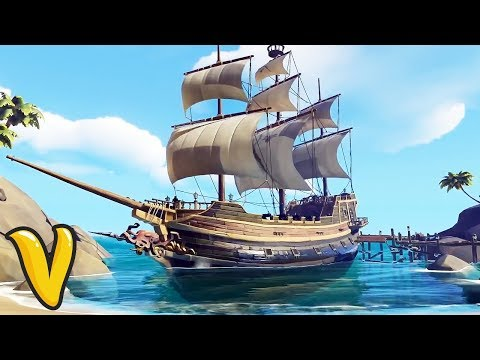 SEA OF THIEVES 50 MINUTES OF GAMEPLAY!! Sea of Thieves Open World Combat Gameplay!