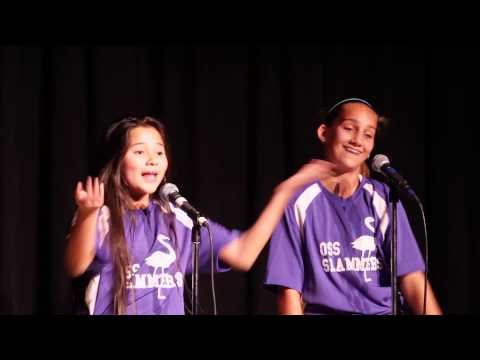 Notes to Beauty 7th graders compete with slam poem