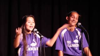 Notes to Beauty | 7th Graders Compete with Slam Poem