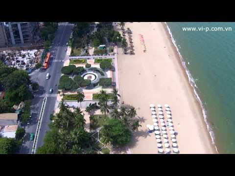 Flycam Vs đường Trần Phú, Nha Trang