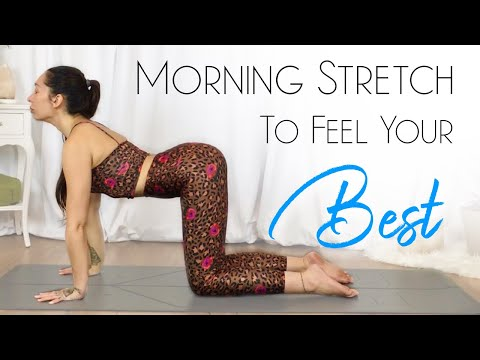 10 Minute Morning Yoga Stretch ( Feel Your BEST! )