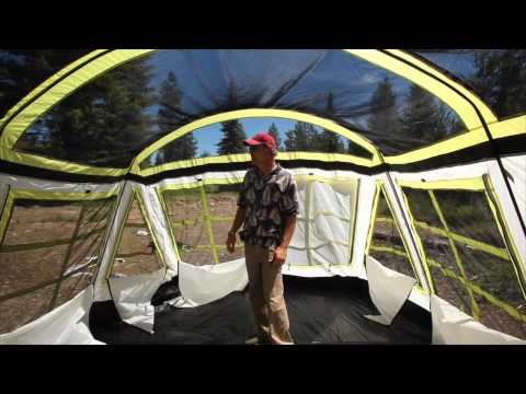 16 Person Family Dome Tent Tahoe Gear Tgt Ozark 16 Doovi