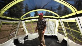 tahoe gear glacier 14 & Save! Tahoe Gear Prescott 12-Person 3-Season Tent Blue/White ...