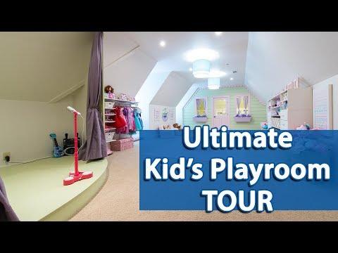 Ultimate Kid's Playroom Tour