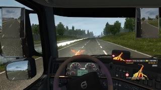 Euro Truck Simulator 2- доставка тяжолых грузов))