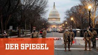 Vor Bidens Amtseinführung: »Eine Hauptstadt sollte nicht so aussehen«