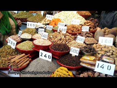 Asia's Largest Wholesale Spice And Dry Fruits Market   Khari Baoli - Chandni Chowk - Delhi - India