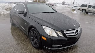 2012 mercedes benz e350 coupe black   sunroof   luxury   martinsville indiana   b0199a