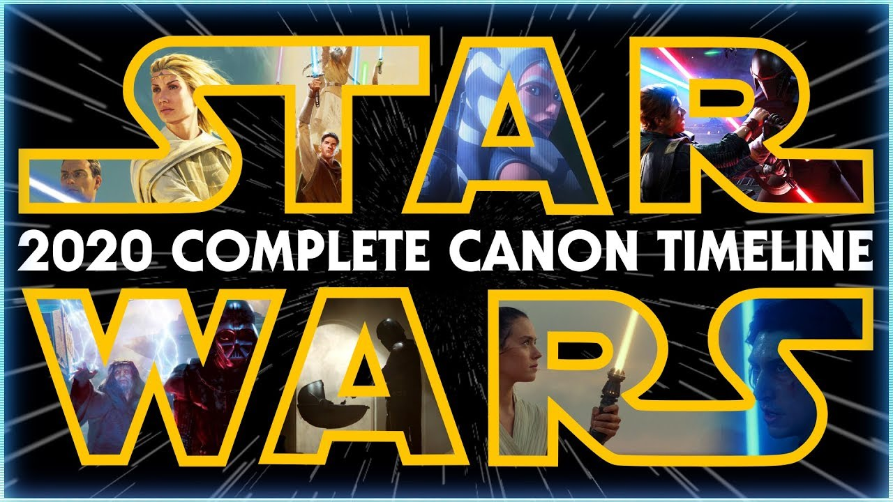 Download Star Wars: The Complete Canon Timeline (2020)