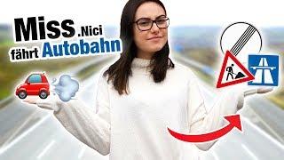 Autobahn Fahrstunde mit MissNici ⛔️ | Fischer Academy