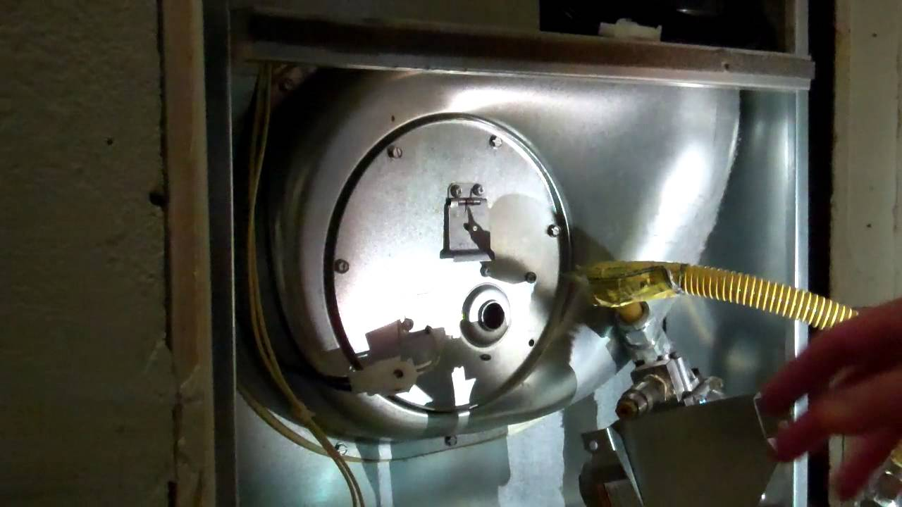 Intertherm (Nordyne) M1MB cleaning hot-surface igniter ...