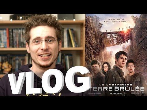 Vlog - Le Labyrinthe - La Terre Brûlée poster