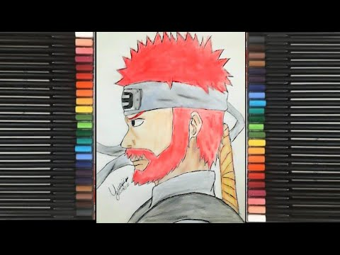 Speed Drawing Roshi Naruto Shippuden - Jinchuurikis #4 ...