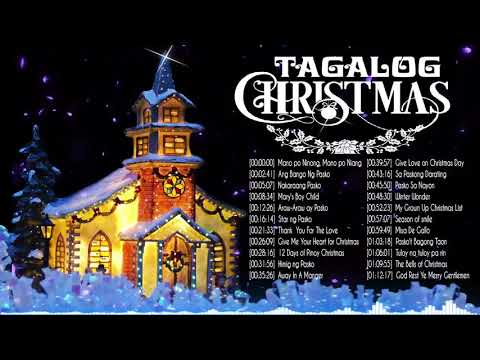 LIVE ] Paskong Pinoy 2021 Best Tagalog Christmas Songs Medley